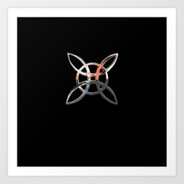 Symbol of Protection. Art Print