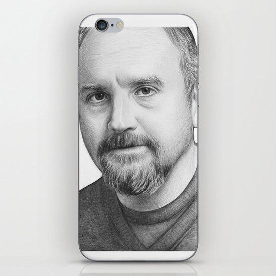 Louis CK Portrait iPhone & iPod Skin