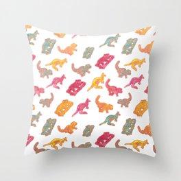 Beautiful Australian native Animals Throw Pillow