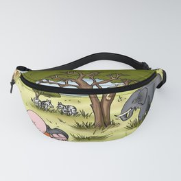 Herbert Hammy's postcard from South Africa (without wording) Fanny Pack