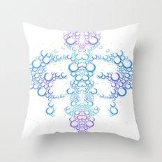 Ink Blot (Light) Throw Pillow