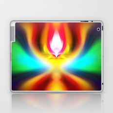 When the sands of time find you dawdling...falling into colour is easy Laptop & iPad Skin