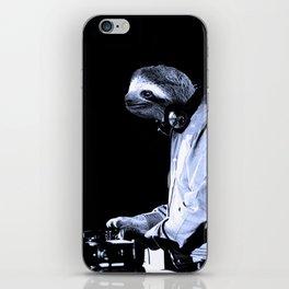 DJ Sloth iPhone Skin