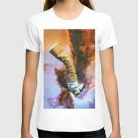 cigarette T-shirts featuring Cigarette by John Turck