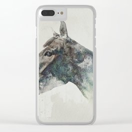 Forrest of louie Clear iPhone Case