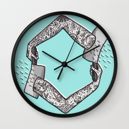 Cleaver Arms Wall Clock