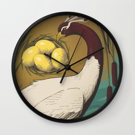 ORPHAN BIRD Wall Clock