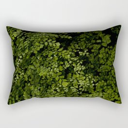 Small leaves Rectangular Pillow