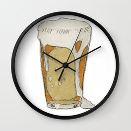A cold one Wall Clock