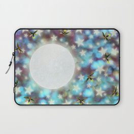 the moon, stars, fireflies, & roses Laptop Sleeve