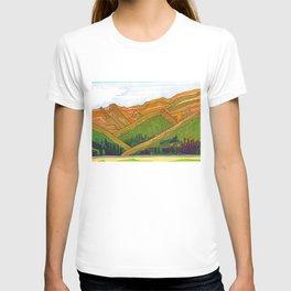 Copper Mountain Colorado View Illustration T-shirt