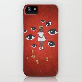 The Flower Picker iPhone Case