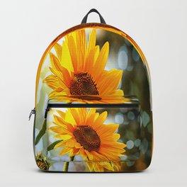 Radiant Sunflower Backpack