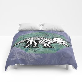 Triceratops Fossil Comforters