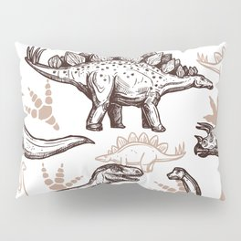 Roar of the Dino Pillow Sham
