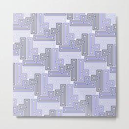 Op Art 40 Metal Print