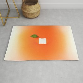Orange out of the box Rug