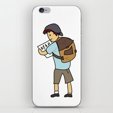 Backpacker iPhone & iPod Skin