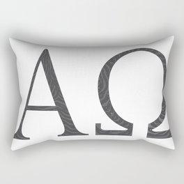 Alpha Omega Rectangular Pillow