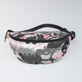 Pink and gray boots Fanny Pack