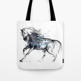 Horse (Storm) Tote Bag