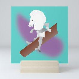 White Knight Mini Art Print