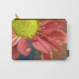 The Orange Daisey Carry-All Pouch