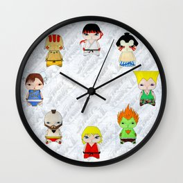 A Boy - Street fighter Wall Clock