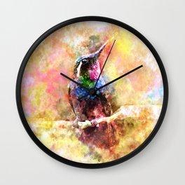 Humming Wall Clock