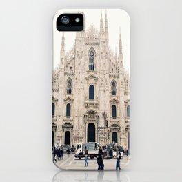 Italy Milan Photography Art Decor Wall Art Home Decor Square Prints iPhone Case