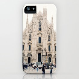 Italy Milan Photography Art Decor Wall Art Home Decor Square Prints iPhone Case
