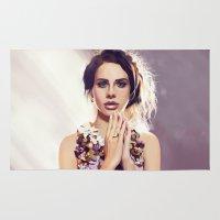 lana Area & Throw Rugs featuring Lana by MartaDeWinter