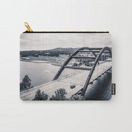 austin's 360 bridge in black & white Carry-All Pouch