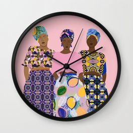 GIRLZ BAND Wall Clock