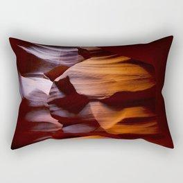 Antelope Orange Rectangular Pillow