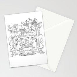 Mayan King Rising Stationery Cards