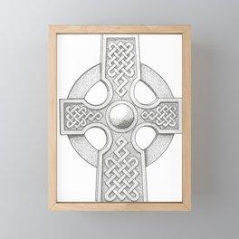 Celtic Cross Framed Mini Art Print