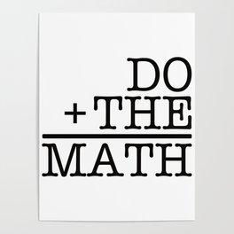 Do The Math Poster