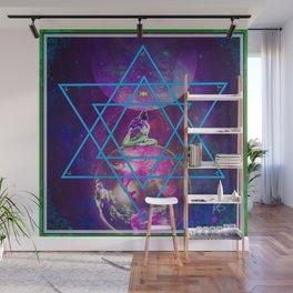 Purple Dakini Warrior Wall Mural