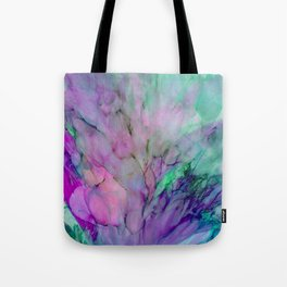 ALCOHOL INK Cvb Tote Bag