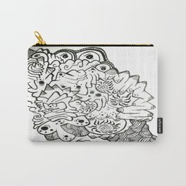 Eyes of the Lady Ink Doodle Carry-All Pouch