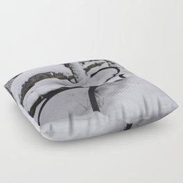 Winter bench Floor Pillow