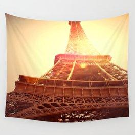 Eiffel Tower II Wall Tapestry