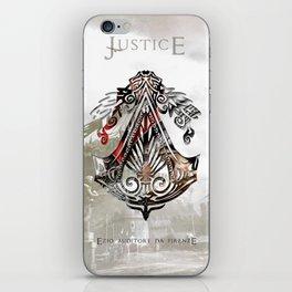 Ezio Auditore Da Firenze - Justice iPhone Skin