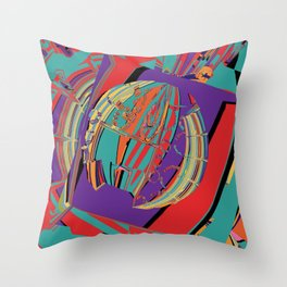 NordicBagel Throw Pillow