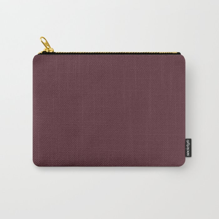 Pantone 19-1725 Tawny Port Carry-All Pouch