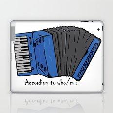 Accordion to who? Laptop & iPad Skin