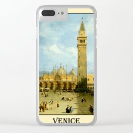 Venice 1720 Clear iPhone Case