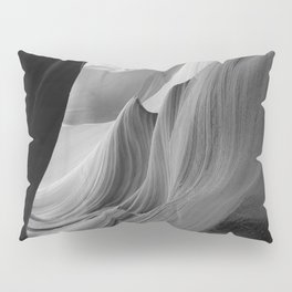 Canyon (Black and White) Pillow Sham