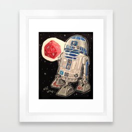 R2-D20 Framed Art Print